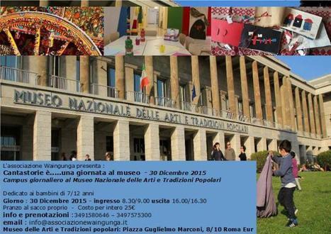 Una giornata al museo Nazionale delle Arti e Tradizioni Popolari | Le Nuove Mamme Roma | ROME, my city | Scoop.it