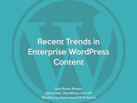 Trends in Enterprise WordPress Content | Education | Scoop.it