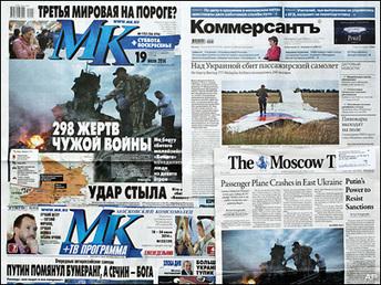 Russian media spin conspiracy theories on Ukraine crash - KOMO News | Current Politics | Scoop.it
