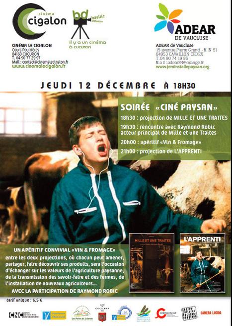 CINÉ PAYSAN à Cucuron | Parole de terre | Les nouvelles du sud Luberon | Scoop.it