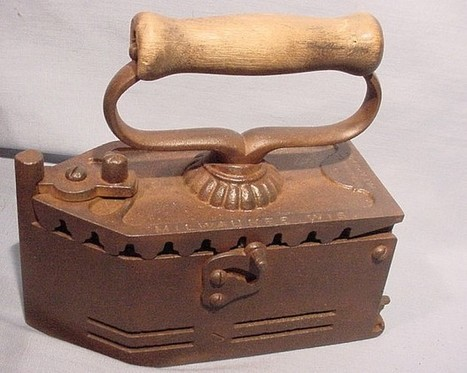 Iron Out Your Differences   Antiques & Vintage Collectibles   Scoop.it