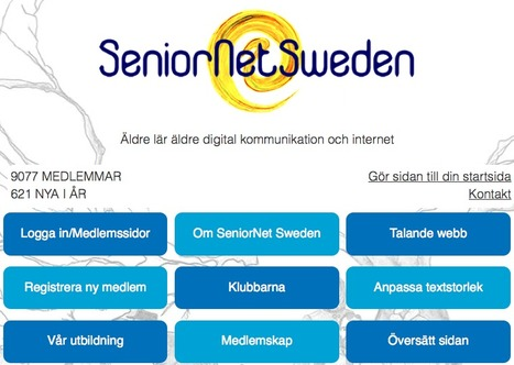 Sprid inspiration på Internet från din klubb! |  SeniorNet Sweden | Seniornet Sweden | Scoop.it