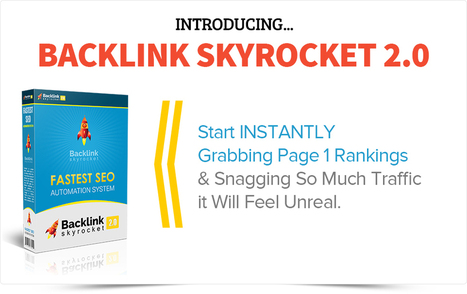Backlink Skyrocket 2.0 Review and Discount   The Crazy Cat Reviews   Scoop.it