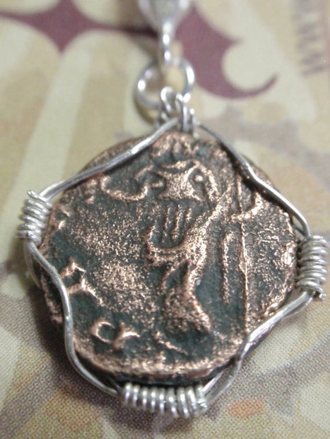 Ancient Roman coin Sterling silver ROLO Necklace Ancient ROME Bronze Coin RCN12 | Ancient Rome | Scoop.it