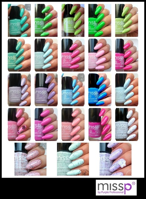 Betty Nails: missp swatches 1 to 23 | Betty Nails | Scoop.it