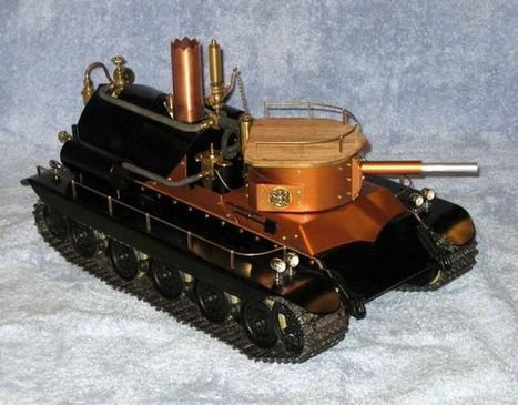 A Remote Controlled, Fully Functional, Steam Powered Tank   Heron   Scoop.it