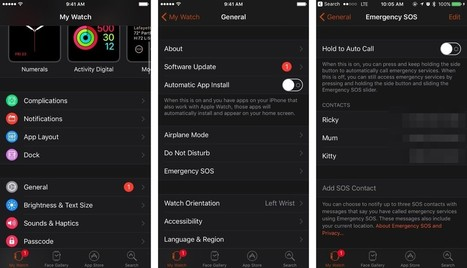 How to use SOS on the Apple Watch: The ultimate guide | Emerio Research | Scoop.it