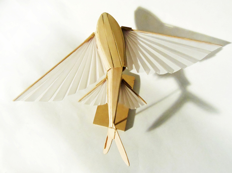 Kinetic sculptures made from popsicle sticks | D_sign | Scoop.it