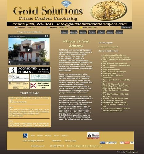 Sell Gold Cape Coral | goldsolutionsoffortmyers | Scoop.it