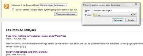 Utilisation des marques pages dynamiques dans Firefox | François MAGNAN  Formateur Consultant | Scoop.it