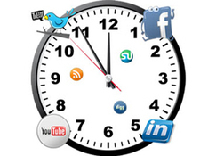 ¿Cuál es la mejor hora para publicar en redes sociales? | Personal Branding and Professional networks | Scoop.it