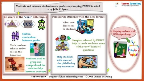 Keeping PARCC in Mind for Math… Without Teaching to the Test | PARCC | Scoop.it