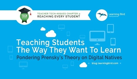 Pondering Prensky's Theory on Digital Natives | digital divide information | Scoop.it
