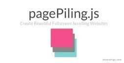 JS, Scroll, pagePiling è una libreria che ti permette di creare site one page | Question tech news on Scoop.it | Scoop.it