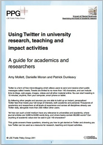 Reading List: Using Social Media for Research Collaboration and Public Engagement | NetworkedPractice | Scoop.it