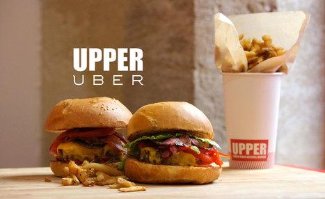 Uber & UPPER BURGER s'associent pour tester la food-livraison | Id marketing cuisine | Scoop.it