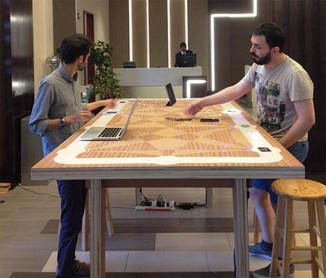 6 Degrees, una mesa interactiva desarrollada por el MIT para buscar tu 'media naranja' profesional | Managing Technology and Talent for Learning & Innovation | Scoop.it