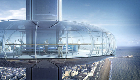 construction to begin at brighton's i360 observation tower - designboom | architecture & design magazine | Actualités | Scoop.it