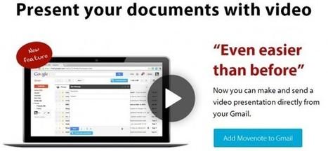 Movenote, la herramienta para crear videolecciones, se integra ahora en GMail | Tools, Tech and education | Scoop.it