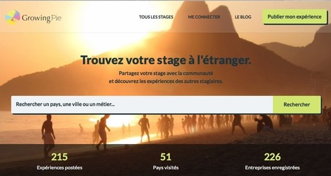 Growing Pie : trouvez votre stage à l'étranger - Le blog | Stages à l'étranger | Scoop.it
