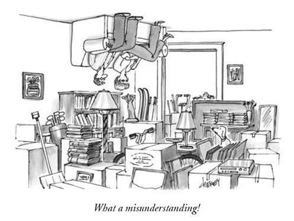 A New Caption That Works for Every 'New Yorker' Cartoon | Practical Networked Leadership Skills | Scoop.it