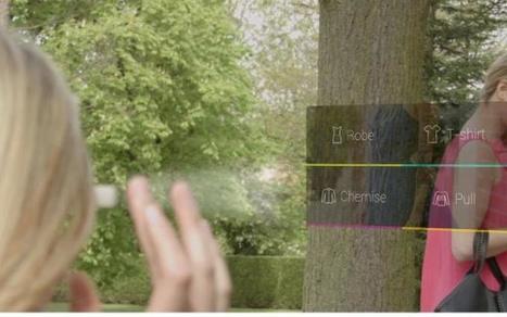 Kiabi innove dans l'expérience shopping avec une application pour Google Glass - Le Parisien   Travel & Innovation   Scoop.it