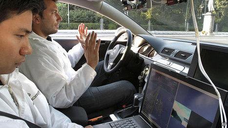 Look, no hands | Driverless Cars-1 | Scoop.it
