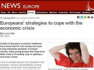 Anne Roumanoff arme anti-crise de la France, pour la BBC | Mais n'importe quoi ! | Scoop.it