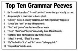 Does Bad Grammar & Punctuation Turn You Off? | Get your Write Up! | Scoop.it