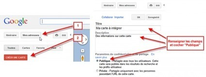 Tutoriel - Carte Google Map sur un site Joomla | formation 2.0 | Scoop.it