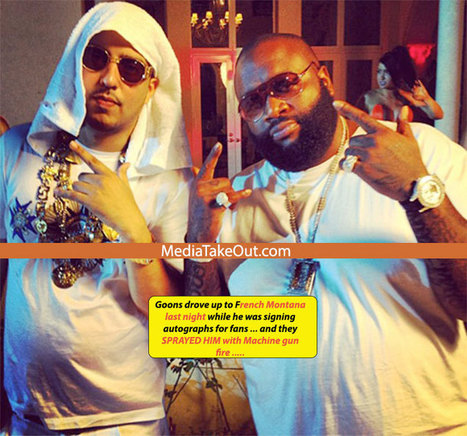 MTO WORLD EXCLUSIVE: NOT AGAIN . . . Goons Shoot Up French Montana's Tour Bus . . .  With MACHINE GUNS . . . ONE DEAD!!! - MediaTakeOut.com™ 2013 | Basketball | Scoop.it