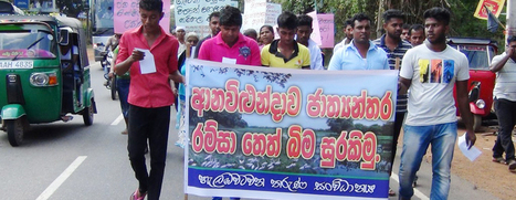 Protesters block Colombo-Puttalam road at Anawilundawa | The Sunday Times Sri Lanka | Asbestos | Scoop.it