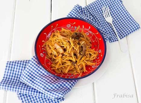 La Cocina de Frabisa | Fideos con chocos o calamares. Cenas en 25 minutos. De Rechupete | Recetas | Scoop.it