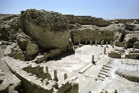 HERODIUM:BIBLE ARCHITECTURE:FORTRESS OF HERODIUM,KING HEROD,WATER CISTERNS,POOL AND COLONNADE,PALACE FORTRESS | historical sites in israel and biblical sources | Scoop.it