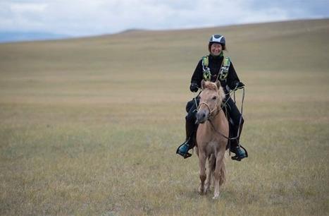 1000 km à cheval à travers la Mongolie, des rencontres inoubliables: Sophie nous raconte l'expérience la plus enrichissante de sa vie | Cheval et sport | Scoop.it