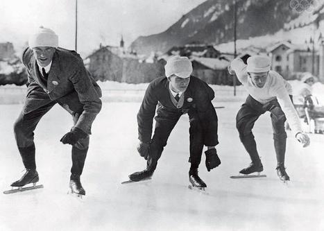 Les premiers Jeux olympiques de 1924 à Chamonix, en images | Slate | GenealoNet | Scoop.it