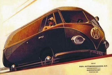 VW Camper Van poster Retronaut | Retronaut - See the past like you ... | VW Camper Vans | Scoop.it