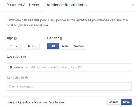 Facebook lance un outil d'optimisation d'audience pour booster la portée des posts | CommunityManagementActus | Scoop.it