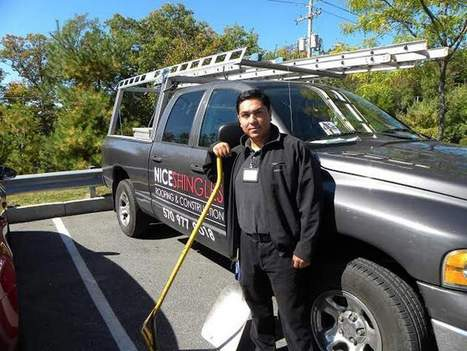 Eco-friendly roofer recycles shingles for repaving roads - Pocono Record | Environmental Population | Scoop.it