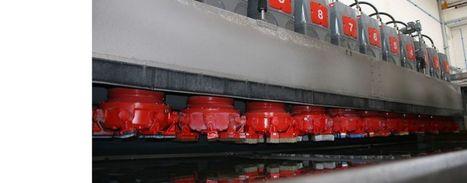 Levibreton KG4000PLUS - Polissoir a bande pour tranches de granit - Breton S.p.a. | Equipements industriels et centres d'usinage | Scoop.it