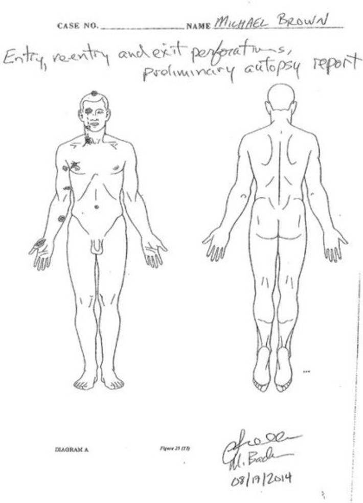 Autopsy Shows Michael Brown Was Struck at Least 6 Times | Crimes Against Humanity | Scoop.it
