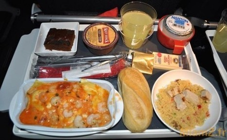 Pourquoi la nourriture est si mauvaise en avion - Menly.fr | Grade 09 French Resources | Scoop.it