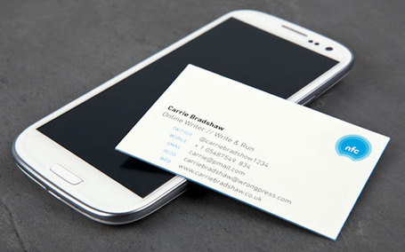 The Humble Business Card Gets Superpowers With NFC [share a story!] | Just Story It | Scoop.it