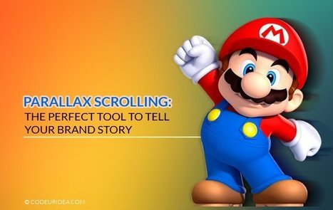 Parallax Scrolling: The Perfect Tool to Tell Your Brand Story | Art, Entertainment & Internet Marketing | Scoop.it
