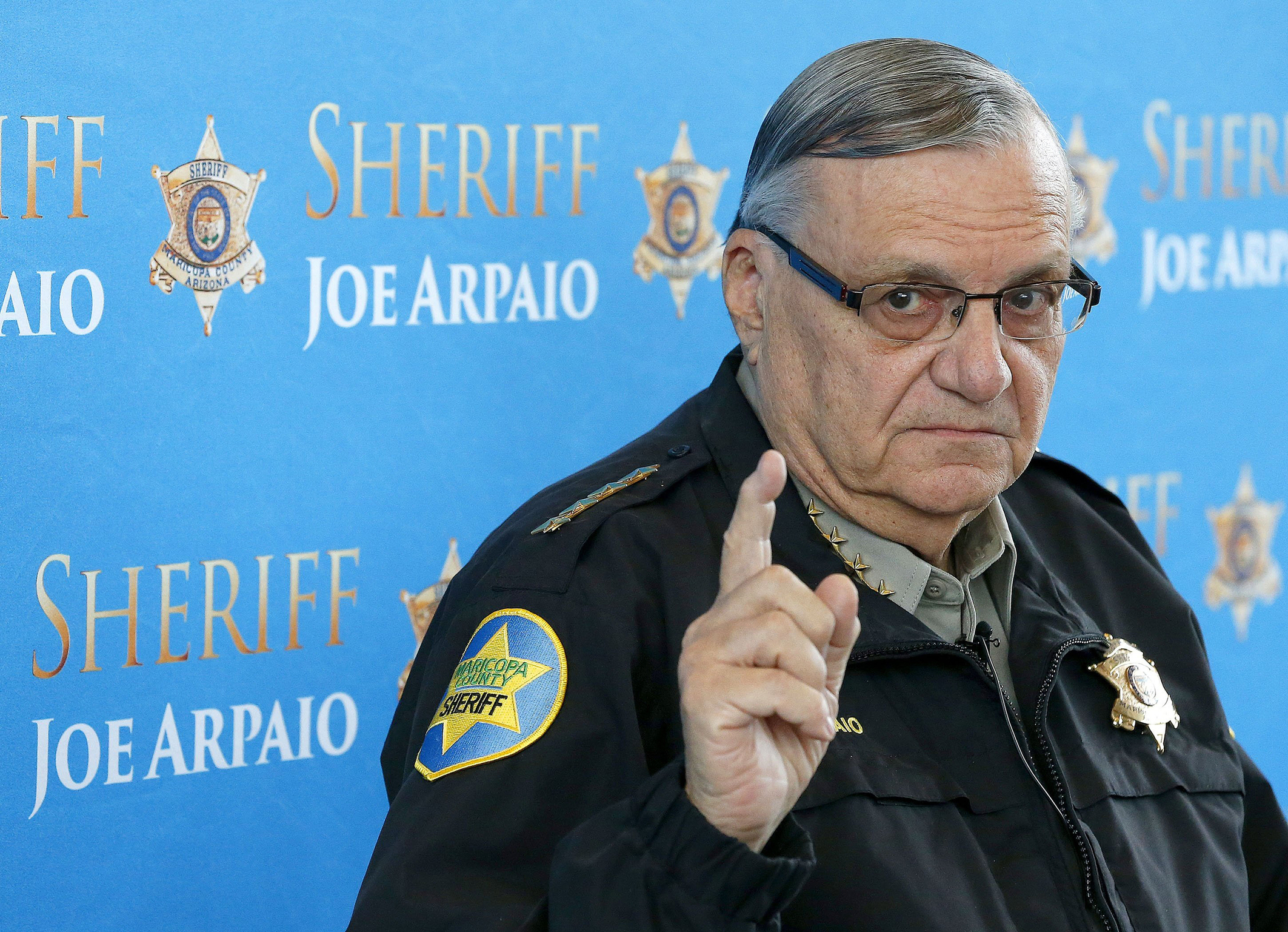 Hurrah!! Sheriff Joe Arpaio puts inmates on 'bread and water' for flag desecration