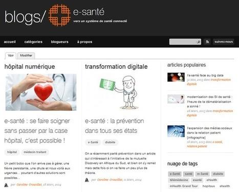 Orange Healthcare lance un blog dédié à l'e-santé | Marketing Digital | Scoop.it