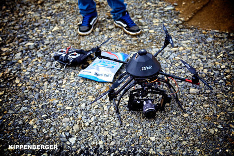 Forget the Helicopter: New Drone Cuts Cost of Aerial Video | Autopia | Wired.com | aerial video drones | Scoop.it