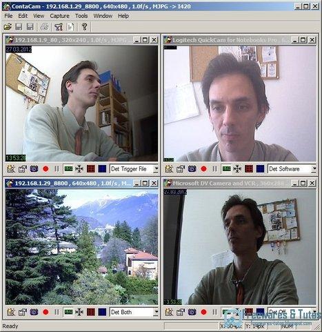 ContaCam : un logiciel de vidéo surveillance gratuit   Time to Learn   Scoop.it
