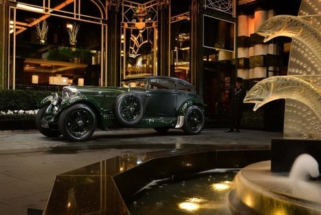 Bentley 'Blue Train' Cleans Up At Schloss Bensberg Classics: Video | Heron | Scoop.it
