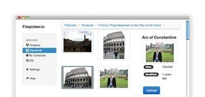 FilePicker.io - Dead Simple Uploads for Web and Mobile | Herramientas Gestión de Conocimiento | Scoop.it